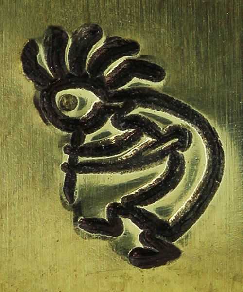 PN5631 = DESIGN STAMP 6mm - kokopelli