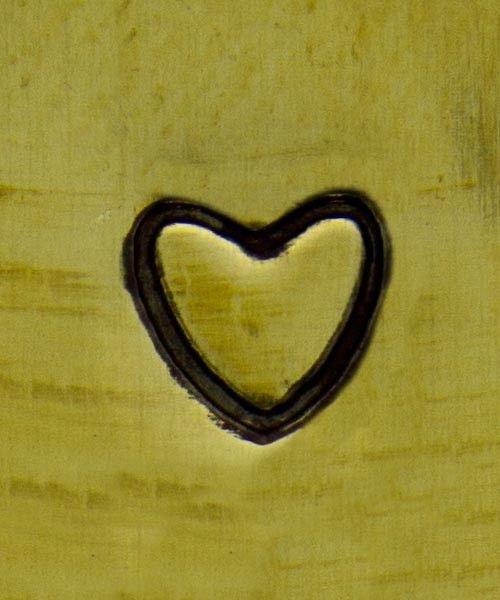 PN5256 = DESIGN STAMP - heart