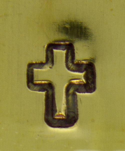 PN5146 = MILLENIUM DESIGN STAMP - Cross