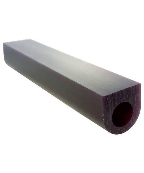 Du-Matt 21.02694 = DuMatt Purple Flat Top Wax Ring Tube 1-1/8'' x1-1/8''