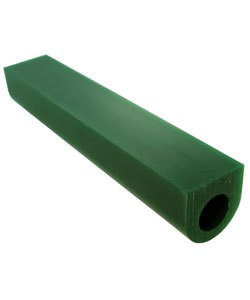 Du-Matt 21.02695 = DuMatt Green Flat Top Wax Ring Tube 1-1/8'' x1-1/8''