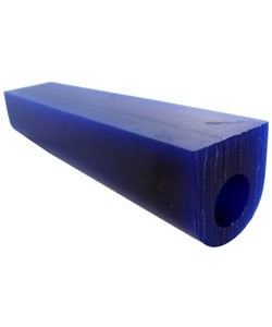 Du-Matt 21.02696 = DuMatt Blue Flat Top Wax Ring Tube 1-1/4'' x1-1/4''