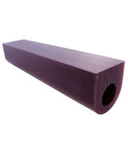 Du-Matt 21.02697 = DuMatt Purple Flat Top Wax Ring Tube 1-1/4'' x1-1/4''