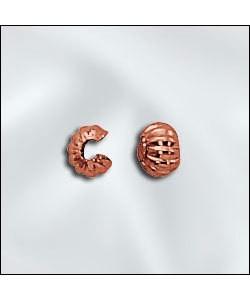 585CU-20C = COPPER CRIMP COVERS CORRUGATED 3mm (Pkg of 100)