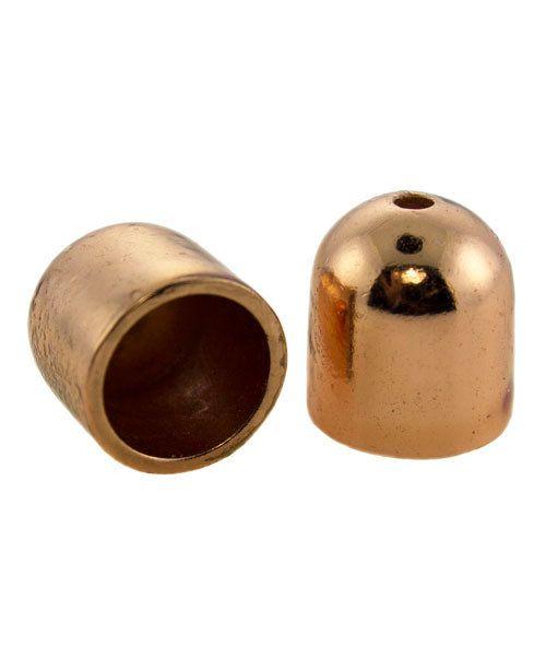 6005CU-01 = END CAP COPPER 7.9mm ID (Pkg of 2)