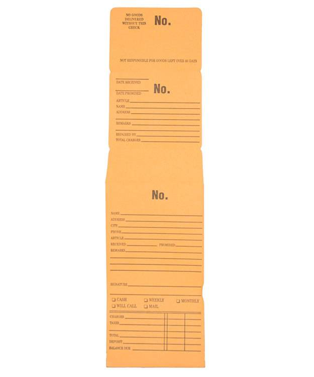 61.165 = Triple Duty Repair Envelope (Package of 100pcs)