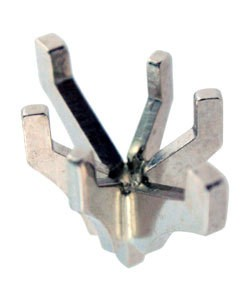 740-1 = Marquise 6 Prong Tiffany Peg Head 10x5.5mm 14KW