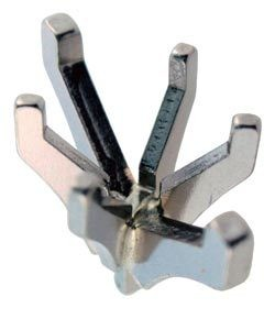 740-1.5 = Marquise 6 Prong Tiffany Peg Head 11.5x6.75mm 14KW