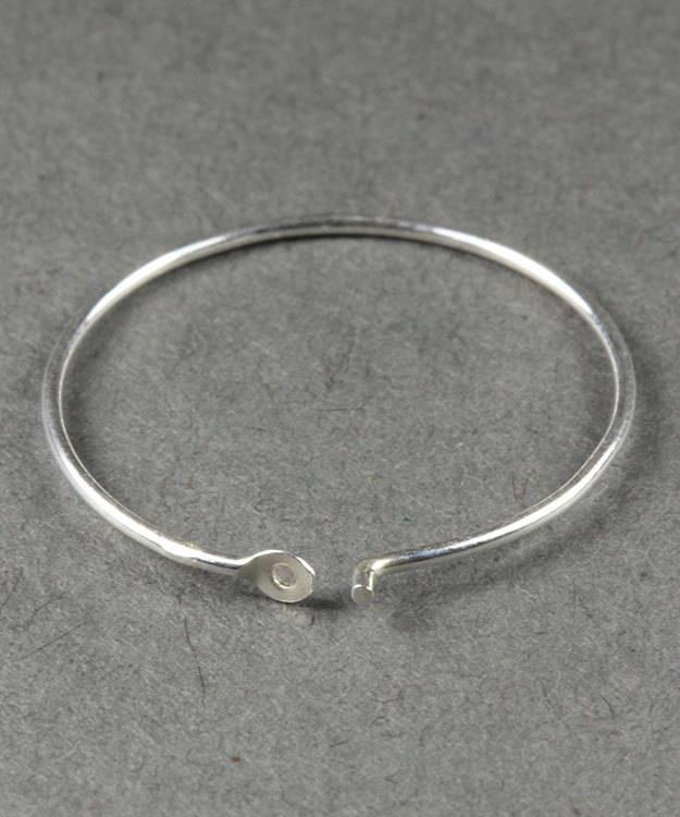 804S-50 = Ear Wire Hoop Sterling Silver 20mm (Pkg of 6)