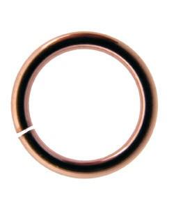 900CU-8040 = Copper Jump Ring Open .040'' x 8.0mm (Pkg of100)