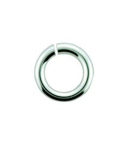 900S-3.1 = Open Jump Ring Sterling Silver 3.1mm ID x .035'' (19ga) (Pkg of 20)