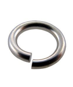 900SC-8.0 = SILVER COLOR BASE METAL JUMP RING 7.5mm (Pkg of 200)