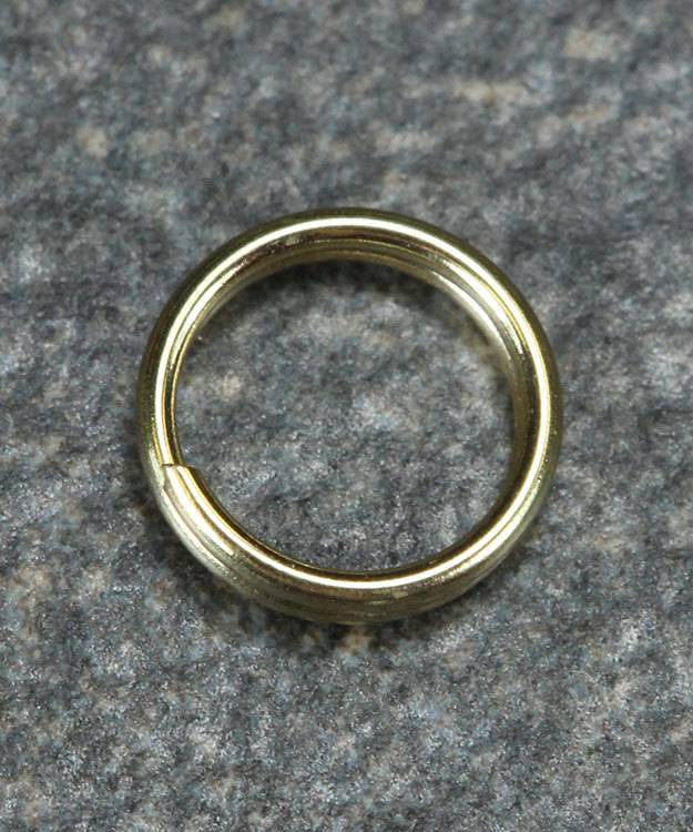 901-02 = Round Split Ring 5.6mm 14KY Gold