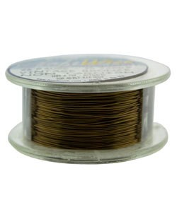 WR6726V = Craft Wire Vintage Bronze Color 26ga 30 YARDS