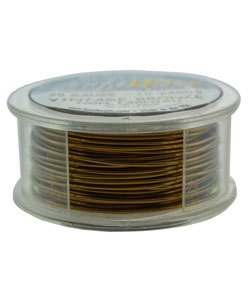 WR6720V = Craft Wire Vintage Bronze Color 20ga 10 YARDS