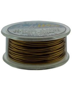 WR6718V = Craft Wire Vintage Bronze Color 18ga 7 YARDS