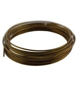WR6716V = Craft Wire Vintage Bronze Color 16ga 5 YARDS