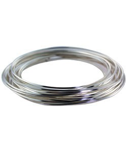WR6218S = CRAFT WIRE SQUARE SILVER PLATED 18ga 4yd SPOOL