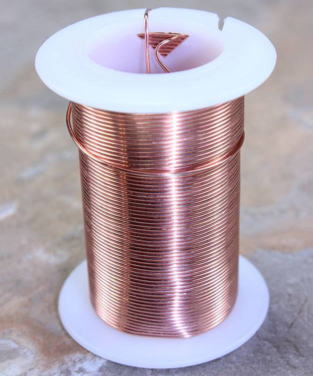WR6020C = Tarnish Resistant Craft Wire Copper Color 20ga - 15yd Spool