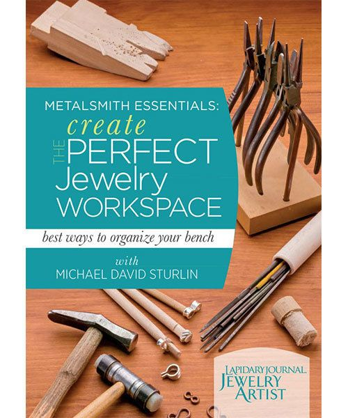 VT3041 = DVD - Metalsmith Essentials: Create the Perfect Jewelry Workspace