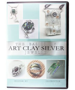 VT2513 = DVD - BASICS OF ART CLAY SILVER JEWELRY, THE