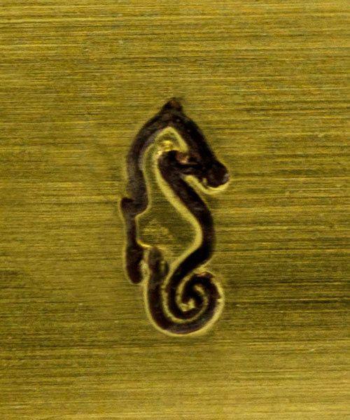 PN5102 = MILLENIUM  DESIGN STAMP - Seahorse