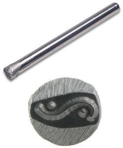 PN5078 = DESIGN STAMP - Swirl border