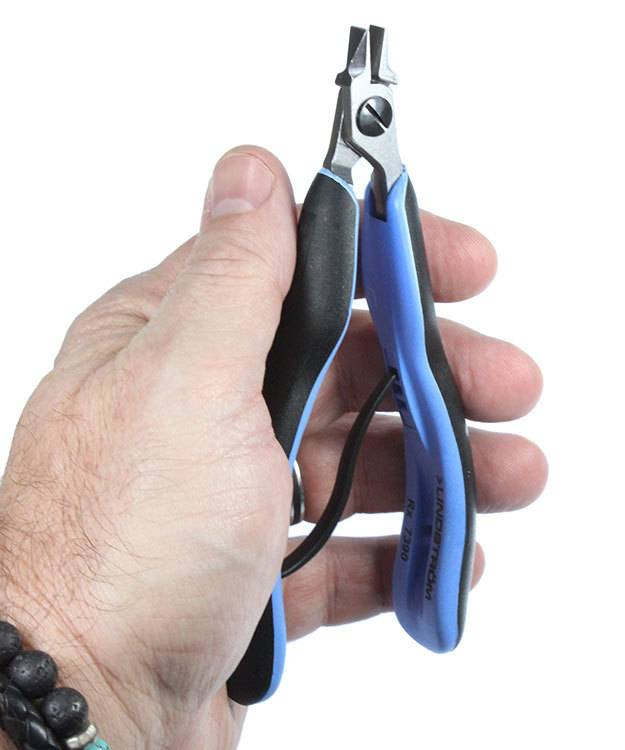Lindstrom PL7390RX = Lindstrom RX Stubby Straight Flat Nose Pliers (7390RX)