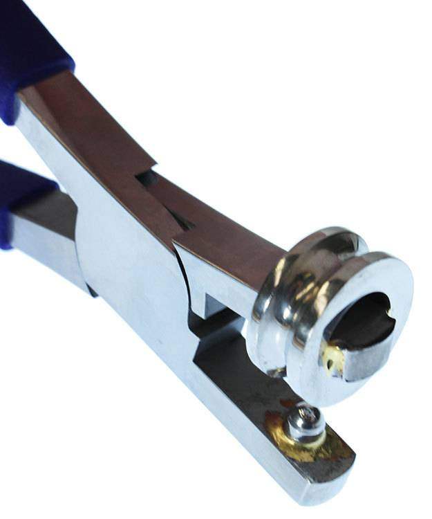 Eurotool PL7118 = Miland Cylinder Anti-Clastic Pliers 1-1/8'' Cylinder