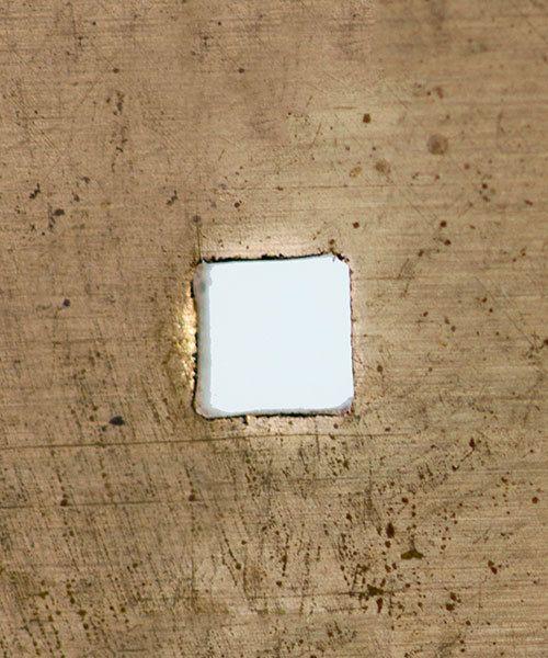 Eurotool PL1341 = Europunch Square Hole Punching Plier 1.5mm