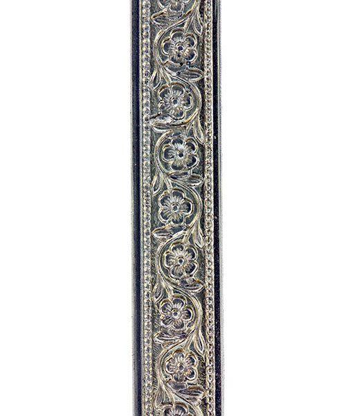 NPW306 = Nickel Silver Pattern Wire - FLOWER CHAIN 0.51 x 7.94mm - 3 foot piece