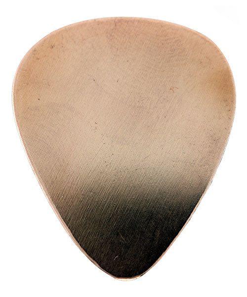 MSC73924 = Copper Shape - Guitar Pick 25 x 27mm (Pkg of 10)