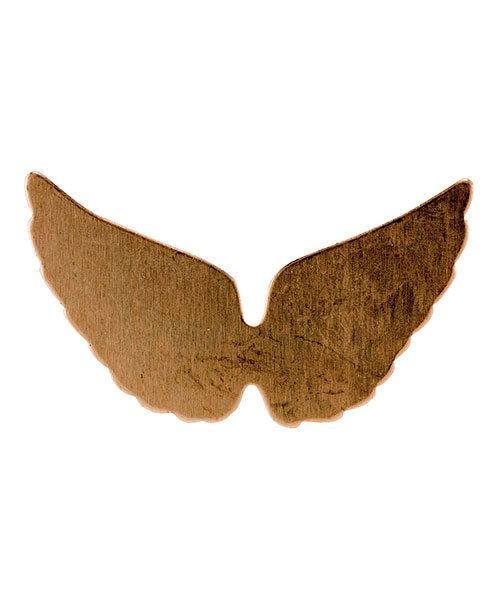 MSC59324 = COPPER SHAPE - ANGEL WINGS  24ga (Pkg of 6)
