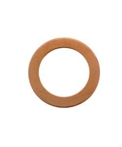 MSC16724 = Copper Washer 7/8'' Dia (24ga) (Pkg of 6)