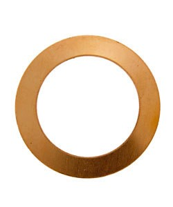MSC16624 = Copper Washer 1-1/4'' Dia (24ga) (Pkg of 10)