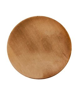 MSC10724 = COPPER SHAPE - ROUND 1-1/4'' dia (24ga) (Pkg of 12)
