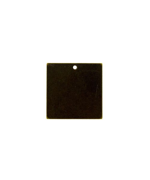 MSBV1006 = Vintaj Brass Shape - SQUARE 20mm (Pkg of 6)