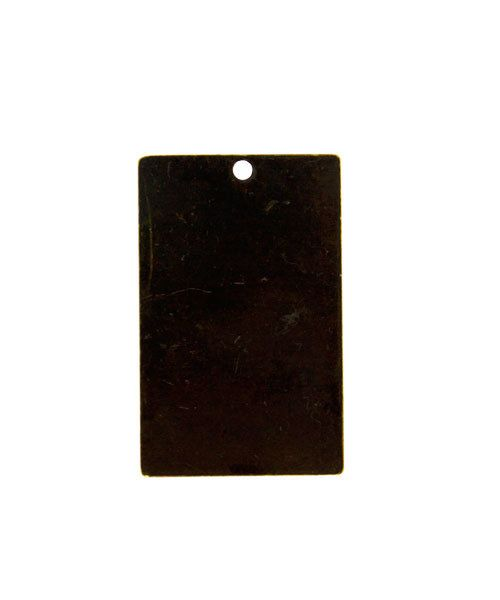 MSBV1005 = Vintaj Brass Shape - RECTANGLE 22x15mm (Pkg of 6)