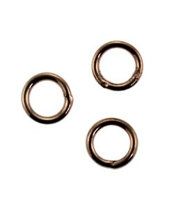 907CU-5.0 = Copper Jump Ring 5.0mm OD x .032'' Soldered Closed (Pkg of 50)