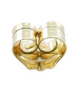 909-04 = Light Medium Weight Friction Earring Back 14KY Gold