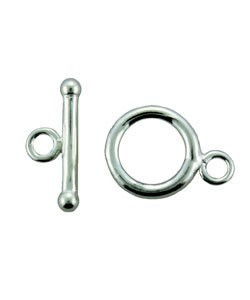 911SF-50 = Silver Filled Toggle with 8.9mm Ring and 12.6mm Bar