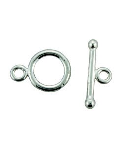 911SF-51 = Silver Filled Toggle with 11.6mm Ring and 19mm Bar