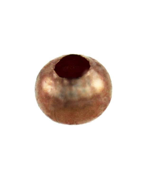 ABCU-R03 = Copper Smooth Rondell Bead 3.2mm (Pkg of 200)
