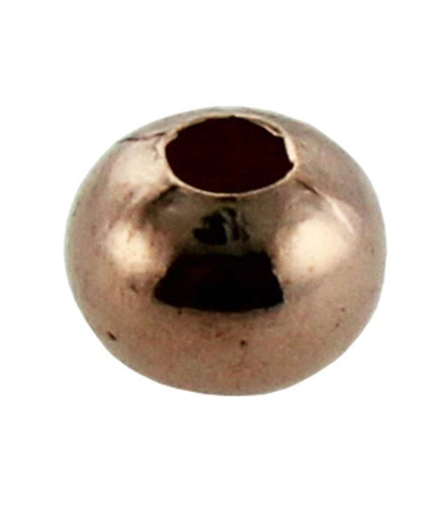 ABCU-R05 = Copper Smooth Rondell Bead 4.8mm (Pkg of 100)