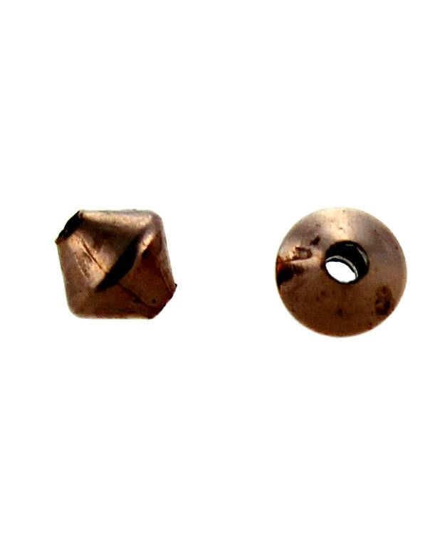ABCU-RM3 = Copper Rhombo Bead 3.2mm (Pkg of 100)