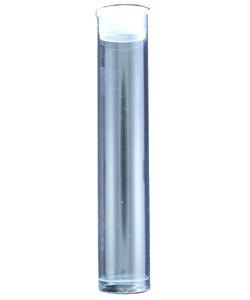 BO222 = Round Plastic Storage Tube 3 ''x 9/16''' (Pkg of 10)