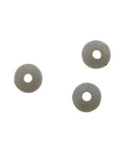 5140CS-90 = Bead Bumper 1.5mm OVAL SILVER (Pkg of 50)