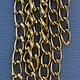 800AL-095LC = Aluminum Curb Chain Light Copper 9.3 x 5.3mm Wide 5 feet Long