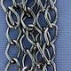 800AL-149TU = Aluminum Curb Chain Taupe 14.4 x 9mm Wide 5 feet Long