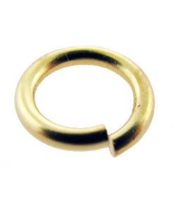 900GC-8.0 = GOLD COLOR BASE METAL JUMP RING 8.0mm (Pkg of 200)